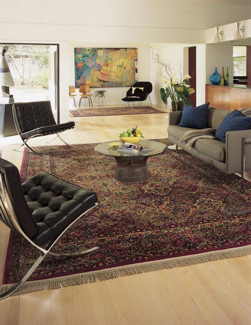 Karastan Original Karastan Panel Kirman Multi 717 Area Rug - 21122