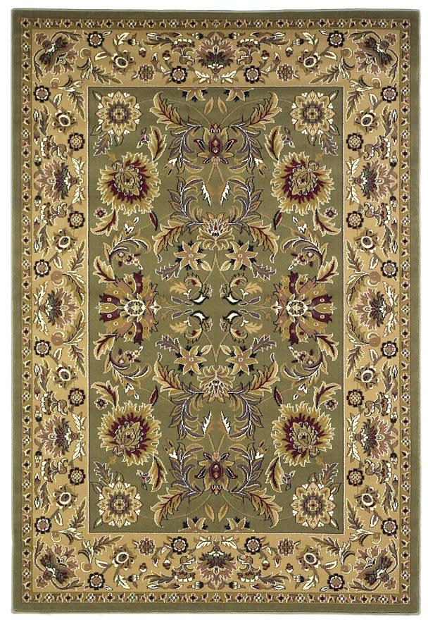 Kas Auto Sales >> Kas Cambridge Kashan Green-Taupe 7304 | Rug Studio