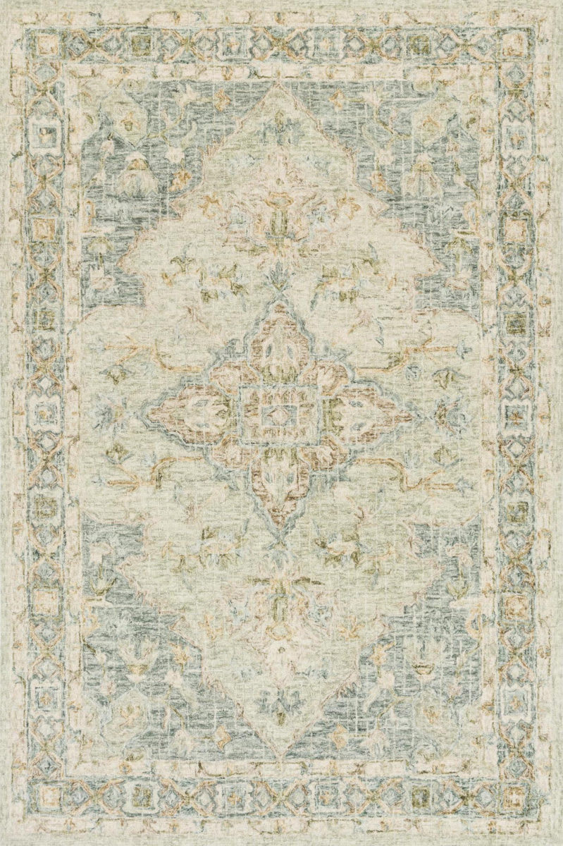 Rugstudio Sample Sale 186140R Seafoam Green - Spa Area Rug Last Chance - 186140R