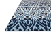 Rugstudio Sample Sale 181671R Blue - Ivory Area Rug Last Chance - 181671R
