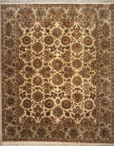 Lotfy And Sons Majestic S 19 Cream Light Green Area Rug 17398