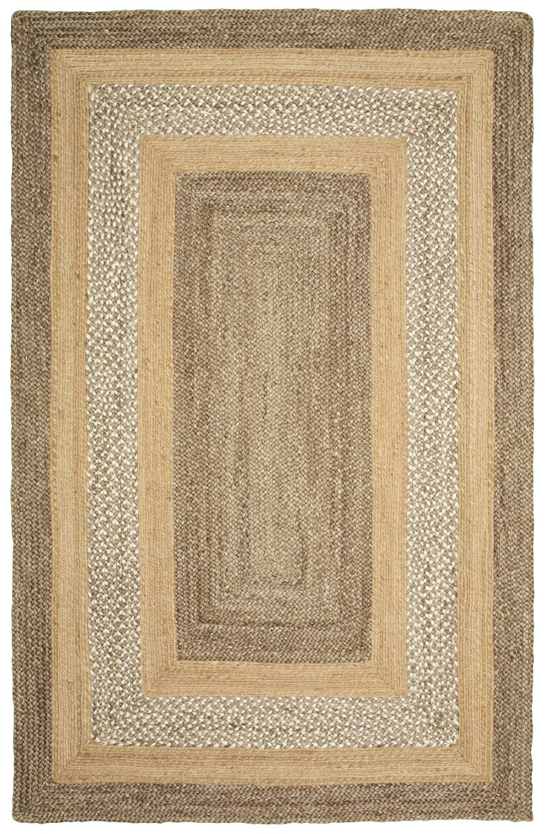 Lr Resources Classic Jute 81206 Gray - Natural