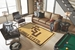Luxury Sports Rugs Team Florida State University Gold - 206011