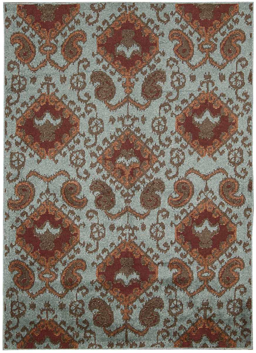 Nourison Kindred Kin01 Aqua Clearance Rug Studio