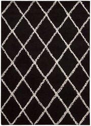 Joseph Abboud Monterey Mtr01 Black - White Area Rug Clearance