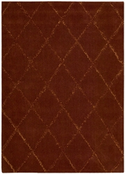 Joseph Abboud Monterey Mtr01 Rust Area Rug Clearance
