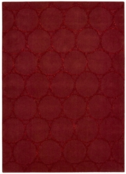 Joseph Abboud Monterey Mtr03 Red Area Rug Clearance