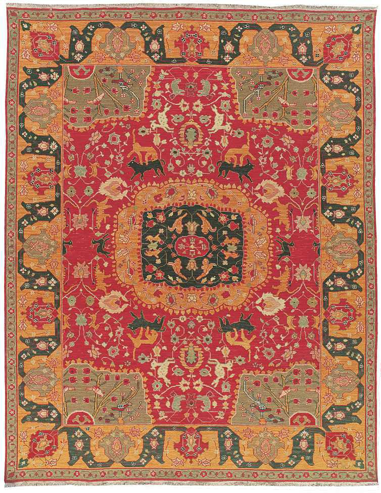 Nourison Nourmak Sk63 Red Area Rug 110528