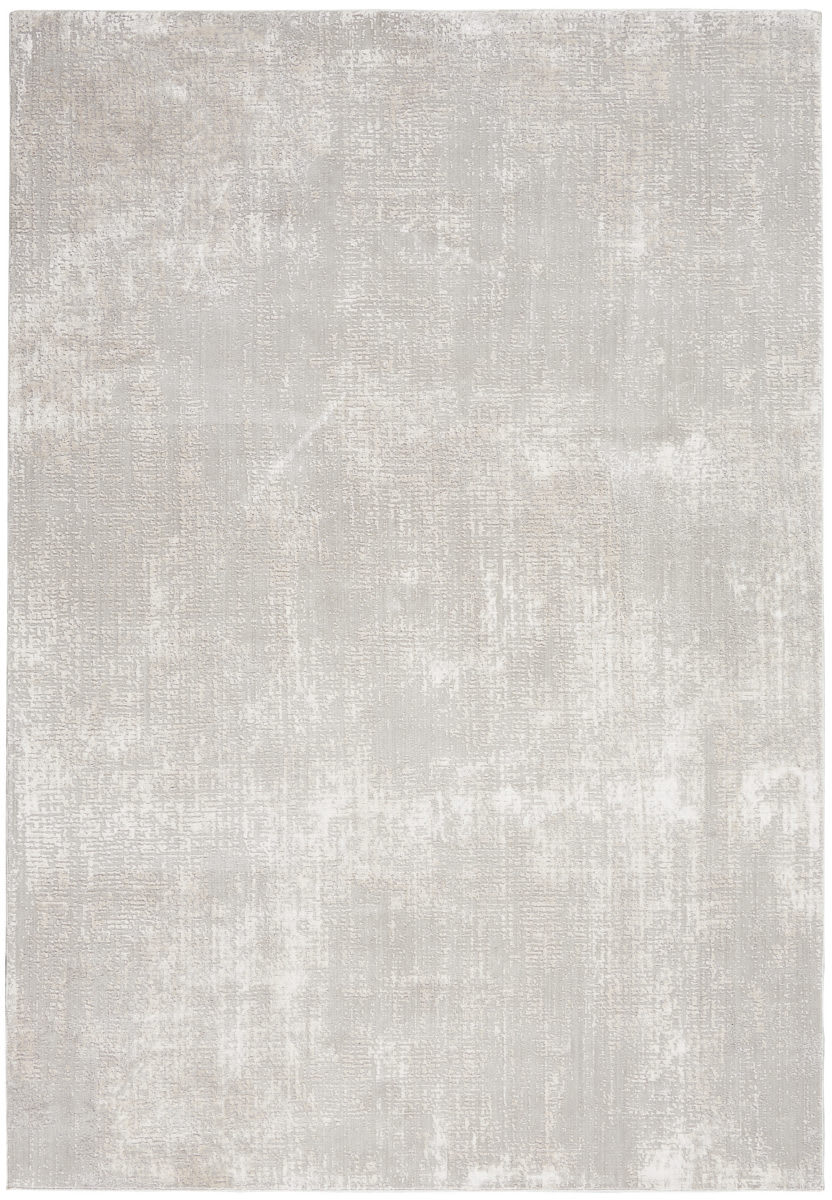Nourison Silky Textures Sly01 Ivory - Grey