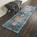 Nourison Ankara Global Anr03 Blue Area Rug - 199580