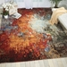Nourison Chroma Crm03 Ember Glow Area Rug - 171379