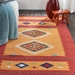 Nourison Baja Baj02 Yellow - Red Area Rug - 217072
