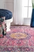 Famous Maker Verona Machine Made Pink Area Rug - 202322