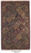ORG Handtufted Panel Kerman Antiqued Area Rug Last Chance - 136963