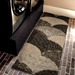 Orian Wild Weave Oystershell Seal Black Area Rug - 212079