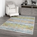 Orian Transitions Multi Colored Western Aqua Area Rug - 211719