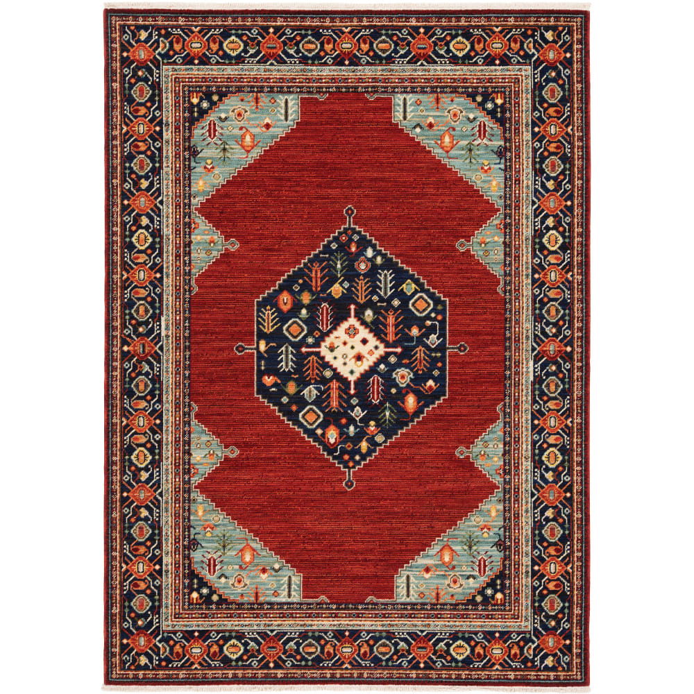 Oriental Weavers Lilihan 5503M Red - Blue