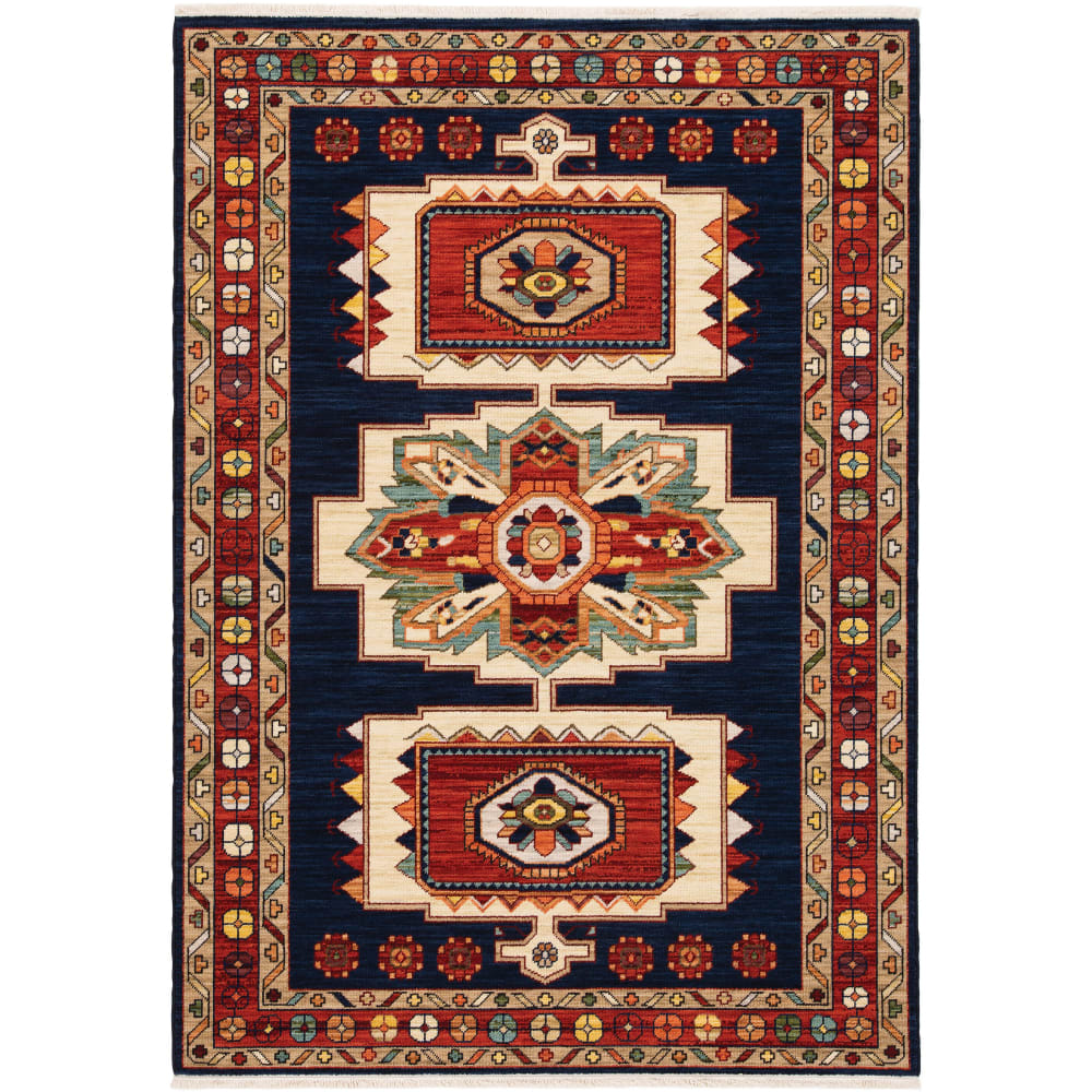 Oriental Weavers Lilihan 090B6 Blue - Red