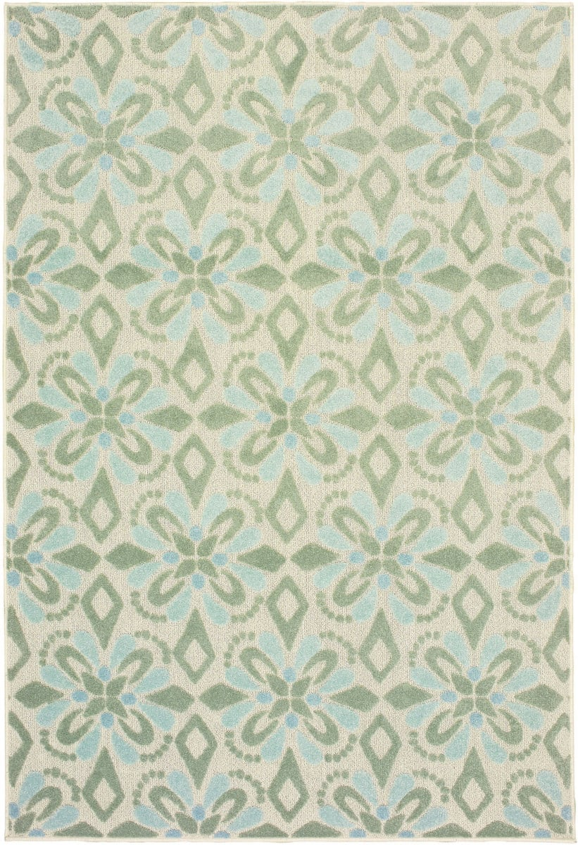 Oriental Weavers Barbados 5994j Ivory - Green