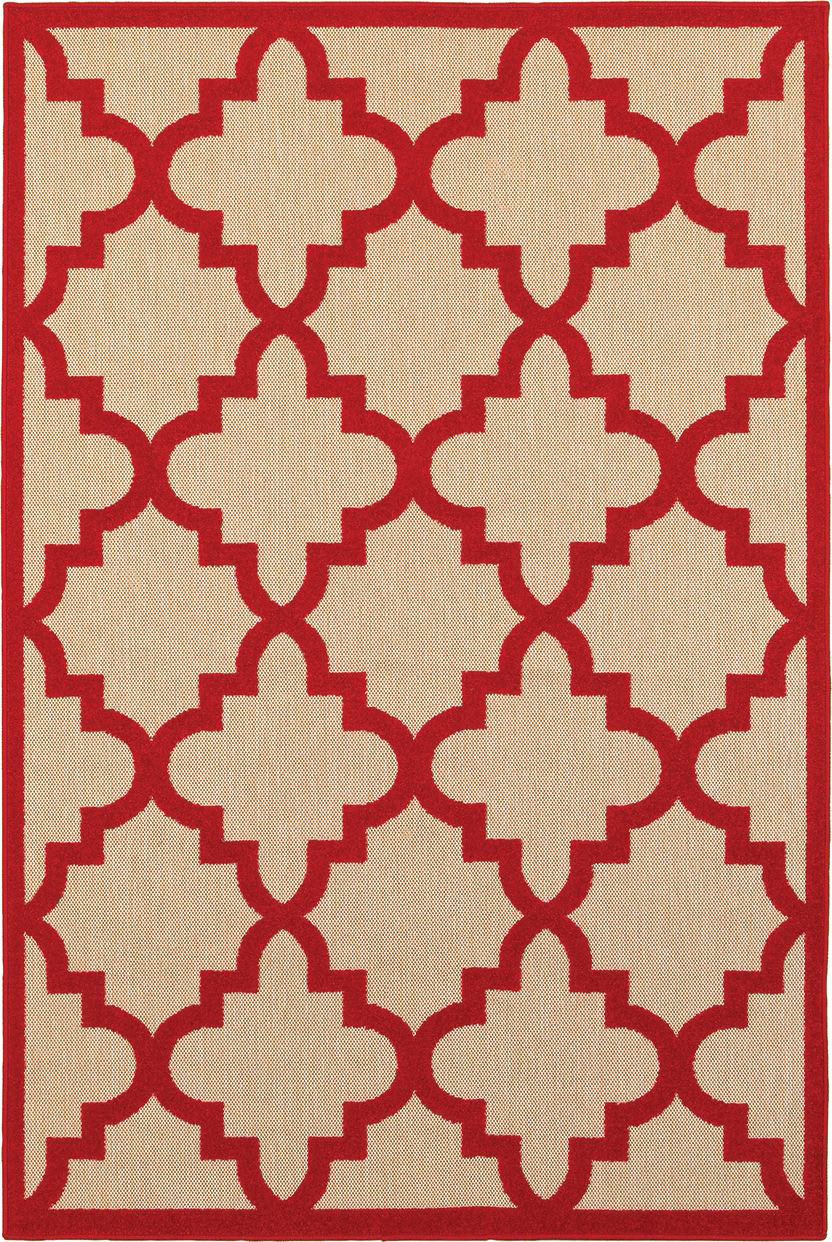 Oriental Weavers Cayman 660r Sand - Red