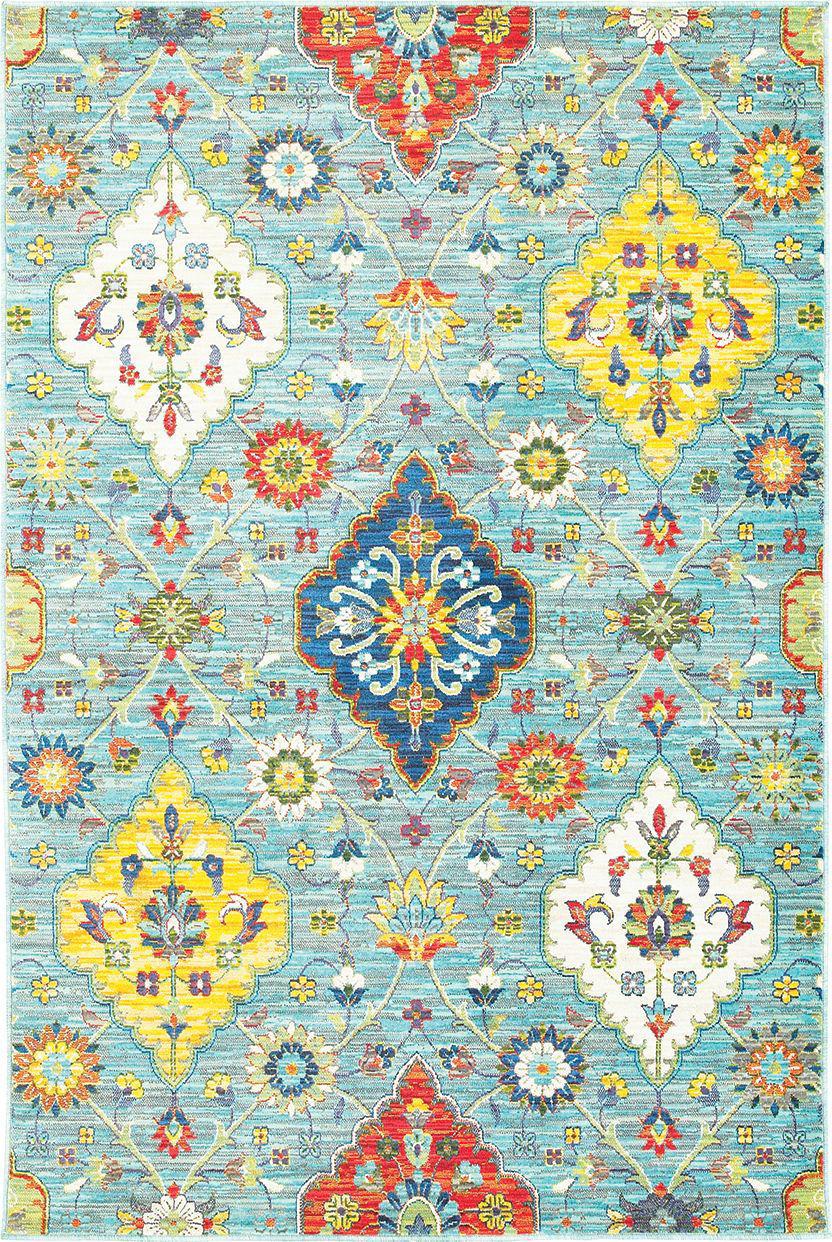 Oriental Weavers Joli 4929l Blue Multi Rug Studio