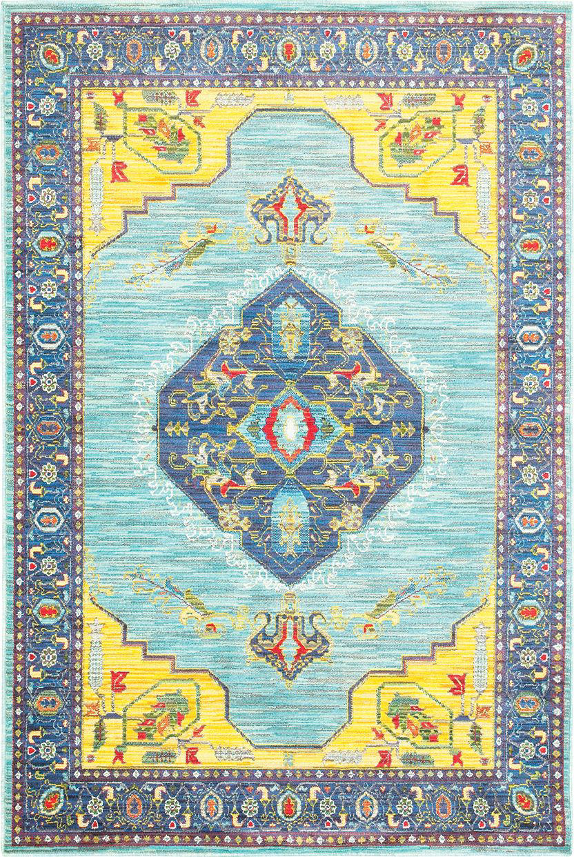 Oriental Weavers Joli 564l Blue - Yellow