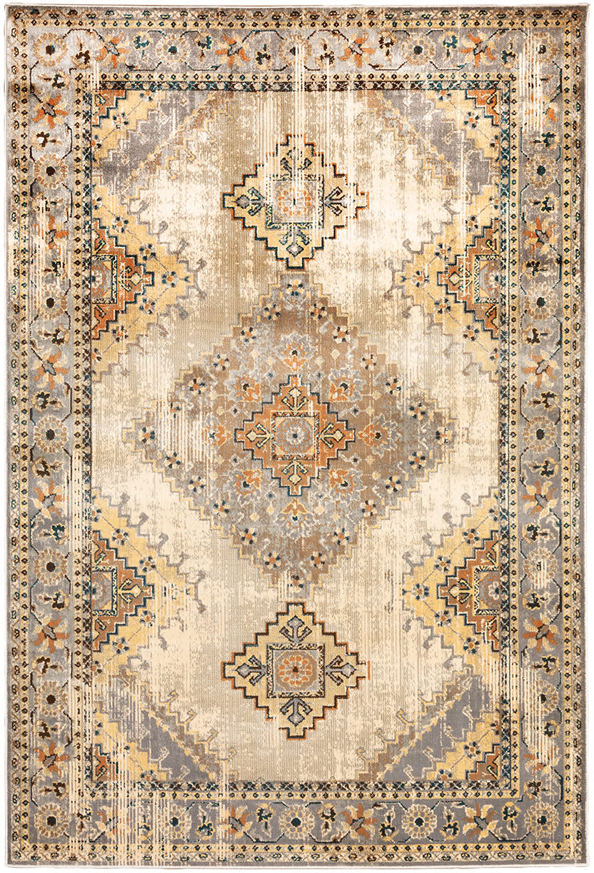 Oriental Weavers Juliette 203W3 Grey - Beige