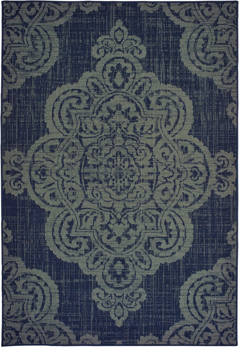 Oriental Weavers Marina 5929b Navy - Grey