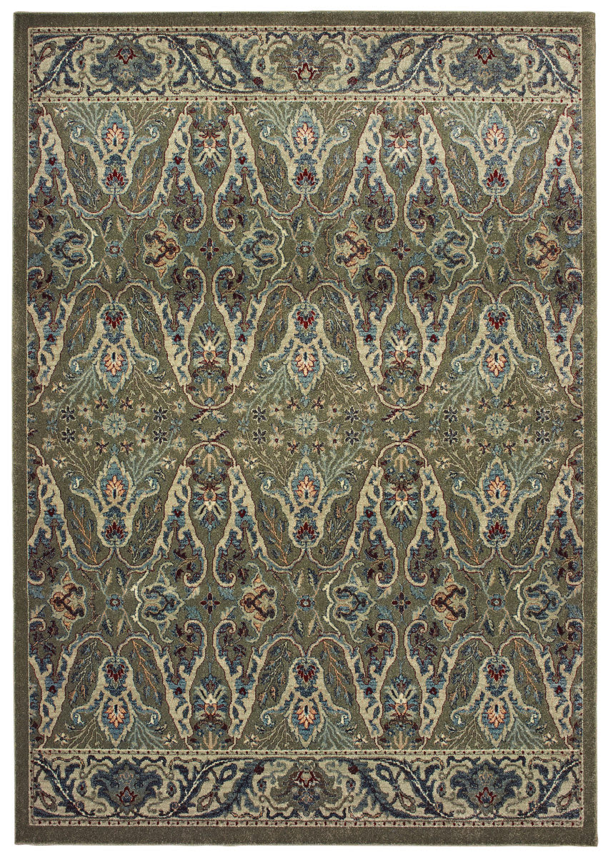 Oriental Weavers Raleigh 655q5 Brown - Ivory