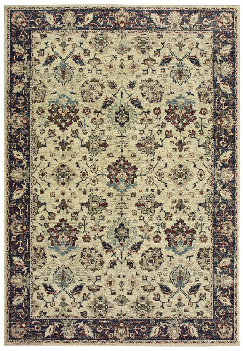 Oriental Weavers Raleigh 8026e Ivory - Navy