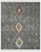 Ralph Lauren Hand Knotted Lrl7544a Denim Area Rug - 200586