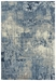 Rizzy Artistry Ary109 Blue - Ivory Gray Area Rug - 196548