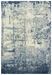 Rizzy Impressions Imp107 Blue - Ivory Gray Area Rug - 196558
