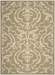 Safavieh Courtyard CY2663-1E06 Olive - Natural