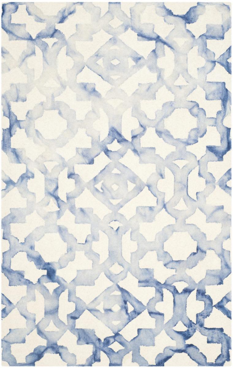 Safavieh Dip Dyed Ddy717a Ivory Blue Rug Studio
