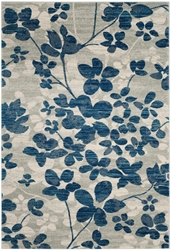 Safavieh Evoke Evk236j Grey - Light Blue Area Rug