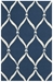 Safavieh Four Seasons Frs242h Navy - Ivory