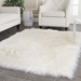 Safavieh Faux Sheep Skin Fss235a Ivory Area Rug - 143342