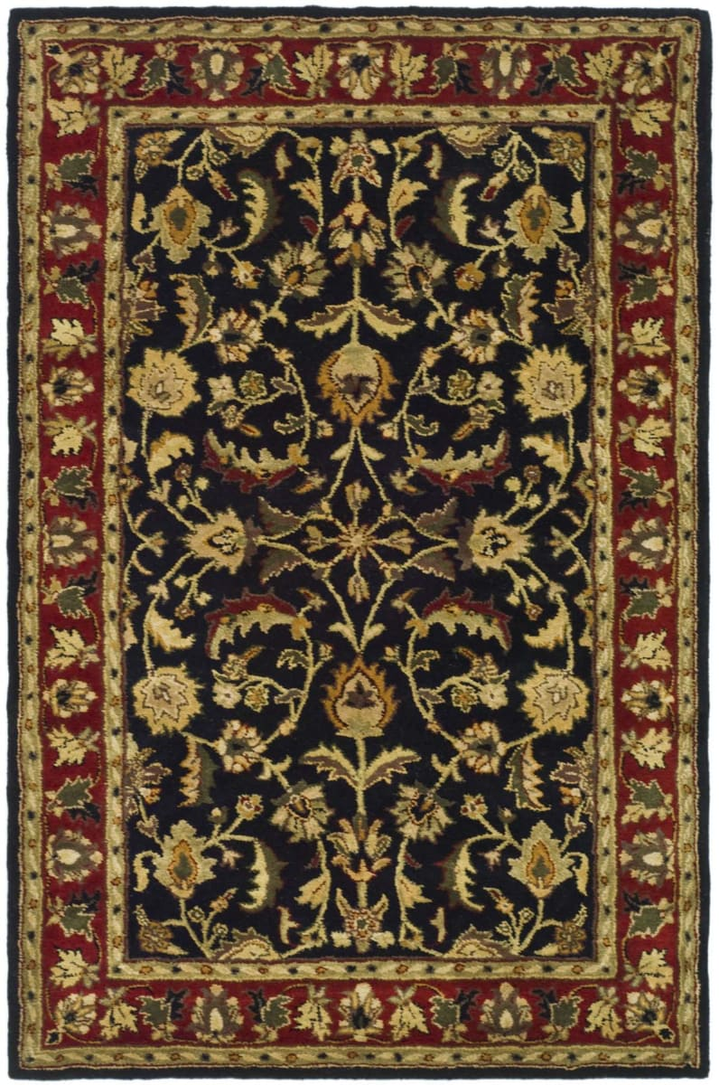 Safavieh Heritage HG953A Black - Red