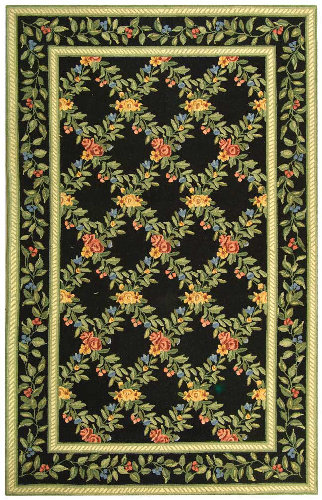 Rugstudio Sample Sale 49987R Black Area Rug Last Chance - 49987R