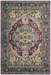 Safavieh Monaco Mnc251l Violet - Light Blue Area Rug - 192317