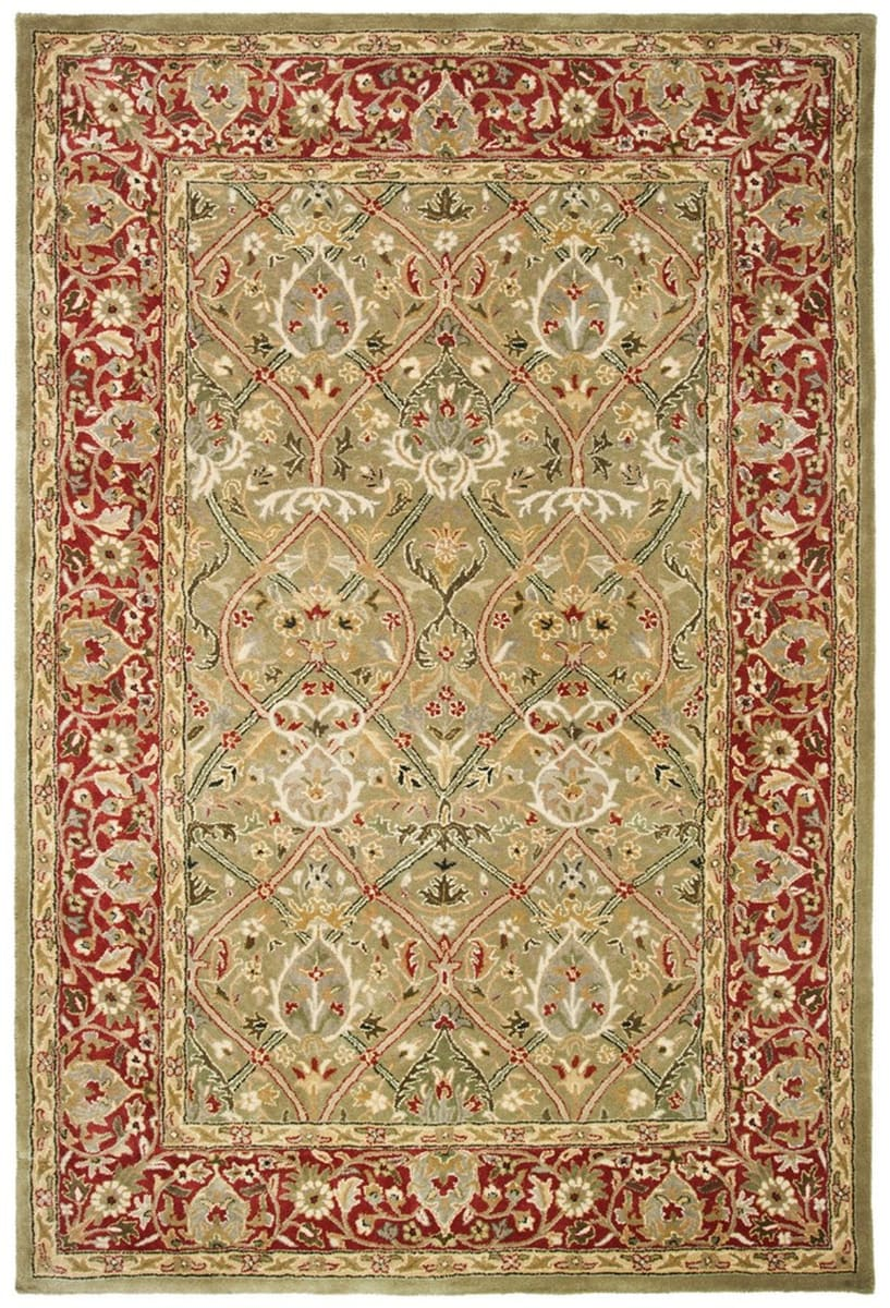Safavieh Persian Legend PL819B Light Green - Rust