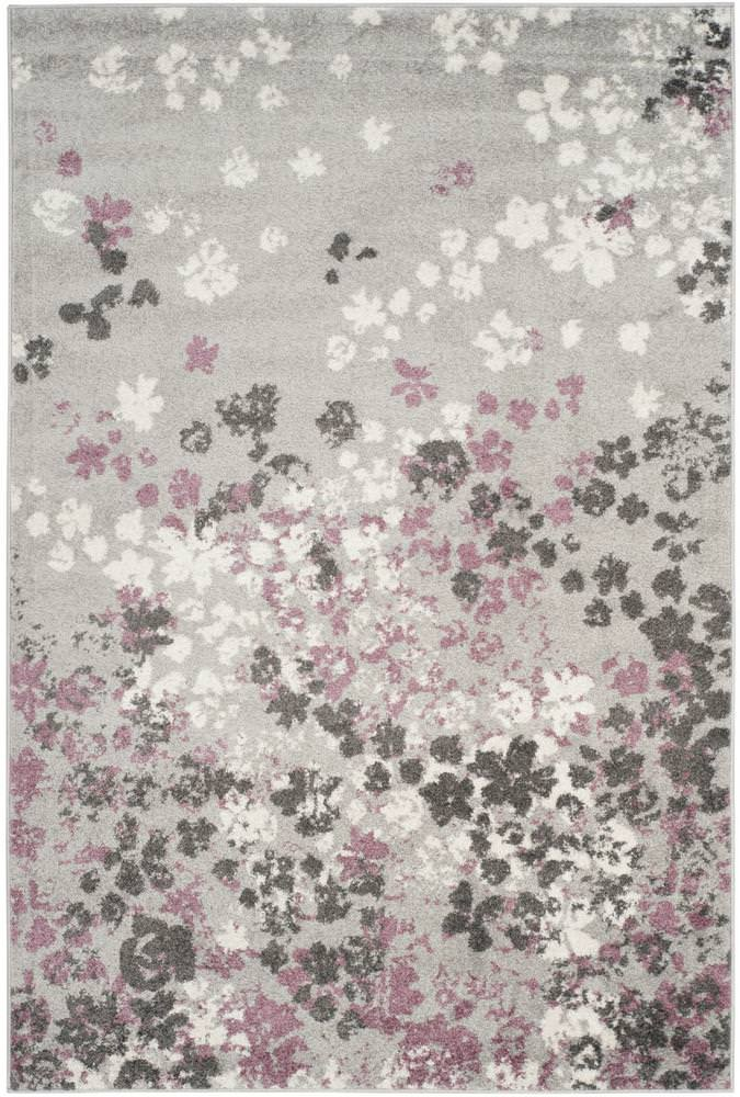 Safavieh Adirondack Adr115m Light Grey - Purple Area Rug - 154801