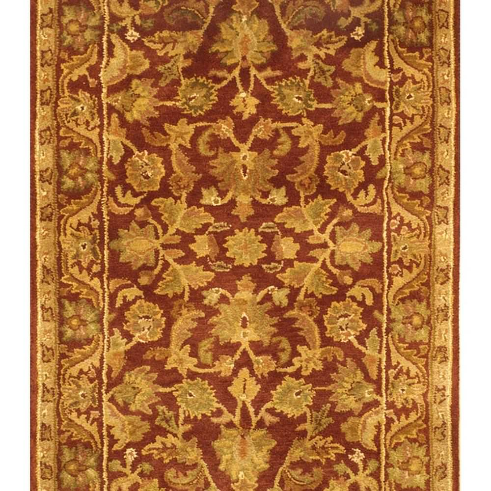 Safavieh Antiquities AT52B Wine - Gold Area Rug Clearance - 49642