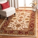 Safavieh Classic CL244D Ivory - Red Area Rug - 49692