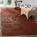 Safavieh Classic Vintage CLV222A Rust - Brown Area Rug - 166187