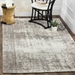 Safavieh Classic Vintage CLV225B Silver - Ivory Area Rug - 166194