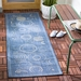Safavieh Courtyard CY1906-3103 Blue - Natural Area Rug - 98701