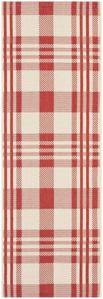 Safavieh Courtyard Cy6201-238 Red - Bone Area Rug - 98947