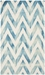 Safavieh Dip Dyed Ddy715h Ivory - Turquoise Area Rug - 126762